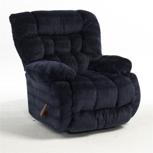 Best Home Furnishings Recliners - Medium Plusher Rocking Reclining Chair