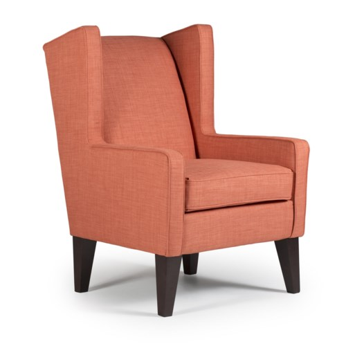 Best Home Furnishings Chairs Wing Back Wing Chair Hudson 39 S Furniture Wing Chair Tampa St