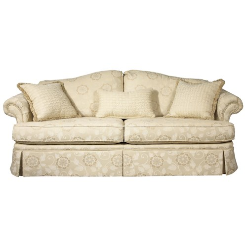 Bwood Clics 7575 Camel Back Sofa