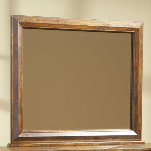 Broyhill Furniture Attic Heirlooms Landscape Mirror