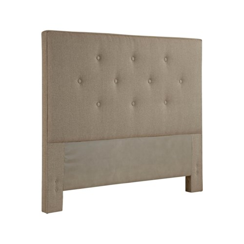 Broyhill Furniture Upholstered Headboards Sterlyn King Size Tufted Fabric Headboard