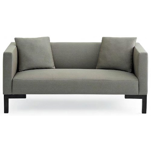 Bond 3 Seat Tuxedo Sofa With Track Arms