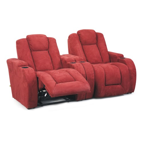 Cheers Sofa 8511 Two Chaise Pad Recliner Sectional Group