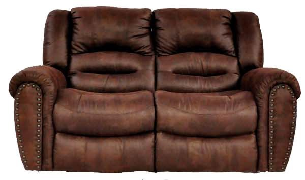 Cheers Sofa 8295 Leather Reclining Loveseat - Ivan Smith Furniture