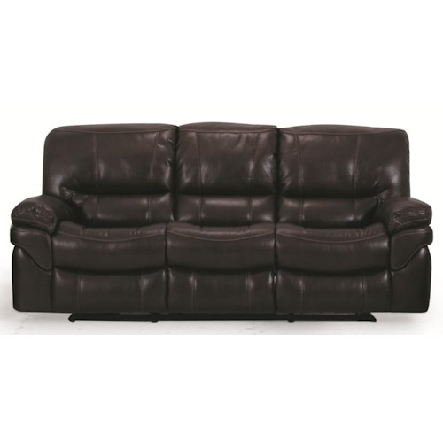 Cheers Sofa UX9335M Casual Reclining Sofa with Pillow Top Arms