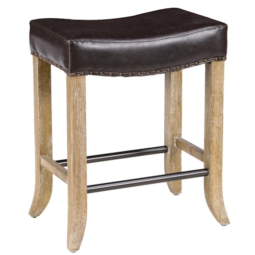 classic home camille backless counter stool with inspired le
