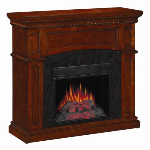 ClassicFlame Nantucket Dual Mantel 18 Inch Electric Fireplace