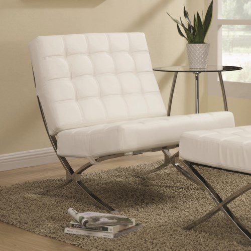Coaster Accent Seating Contemporary Waffle Chair