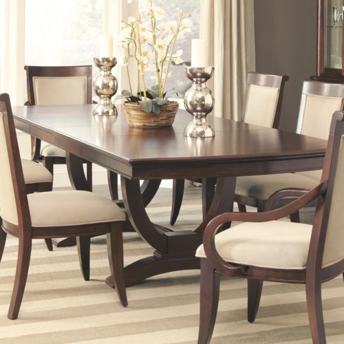 Coaster Alyssa Trestle Dining Table - Coaster Fine Furniture