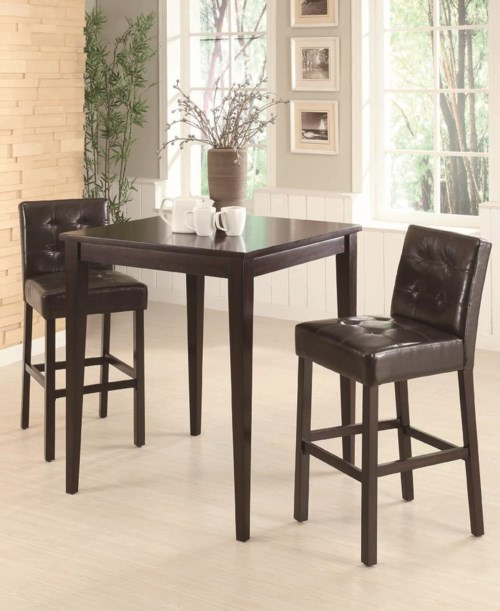 coaster bar units and bar tables square pub table with two bar