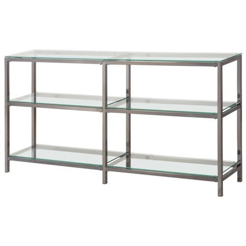 glass bookshelf and furniture metal shelves bookcase amity
