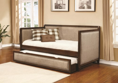 Coaster Daybeds By Coaster Traditional Daybed With