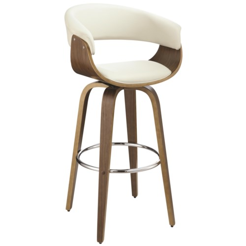 Coaster Dining Chairs And Bar Stools Contemporary Upholstered Stool Fine Furniture