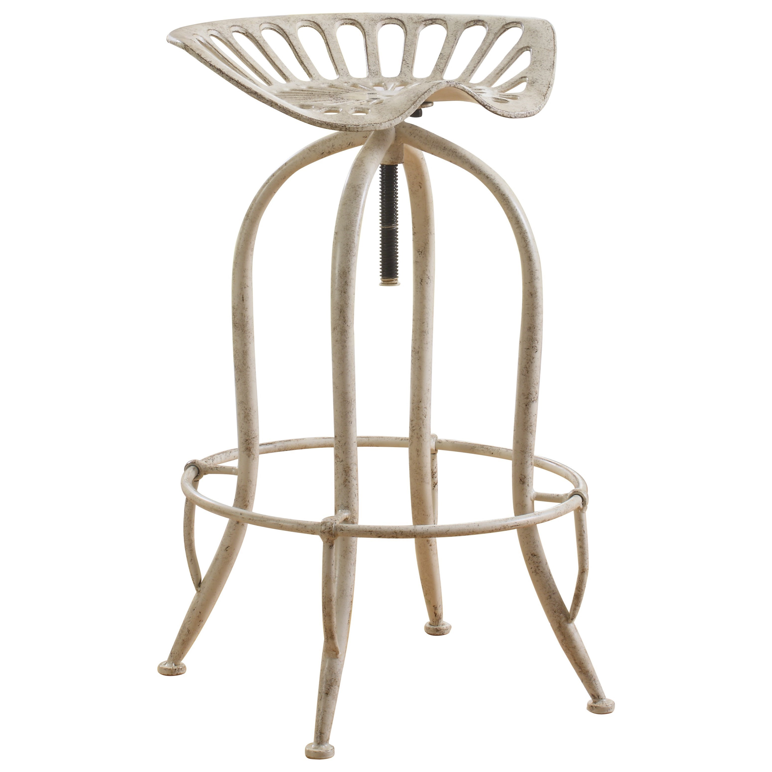 Coaster Dining Chairs And Bar Stools Metal Tractor Seat Adjustable Stool    Coaster Fine Furniture