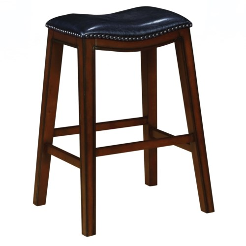 Coaster Dining Chairs and Bar Stools Upholstered Backless Bar ...