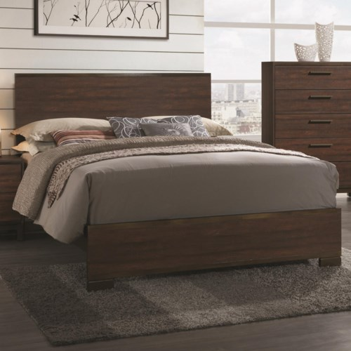 bed shown may not represent size indicated - Coaster Bed Frame