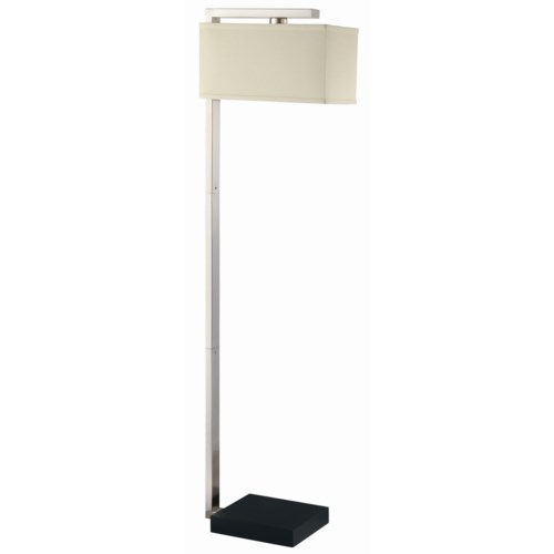 Coaster Floor Lamps Contemporary Floor Lamp With 3 Swivel Lights
