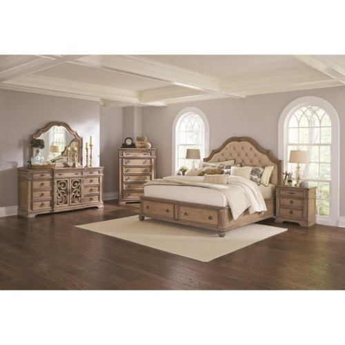 Coaster ilana california king bedroom group coaster fine for R way bedroom furniture