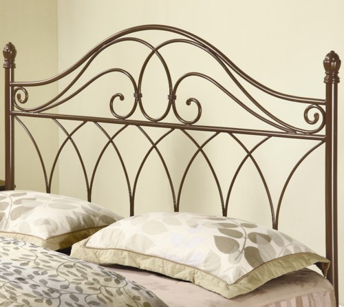 Coaster Iron Beds And Headboards Full Queen Brown Metal