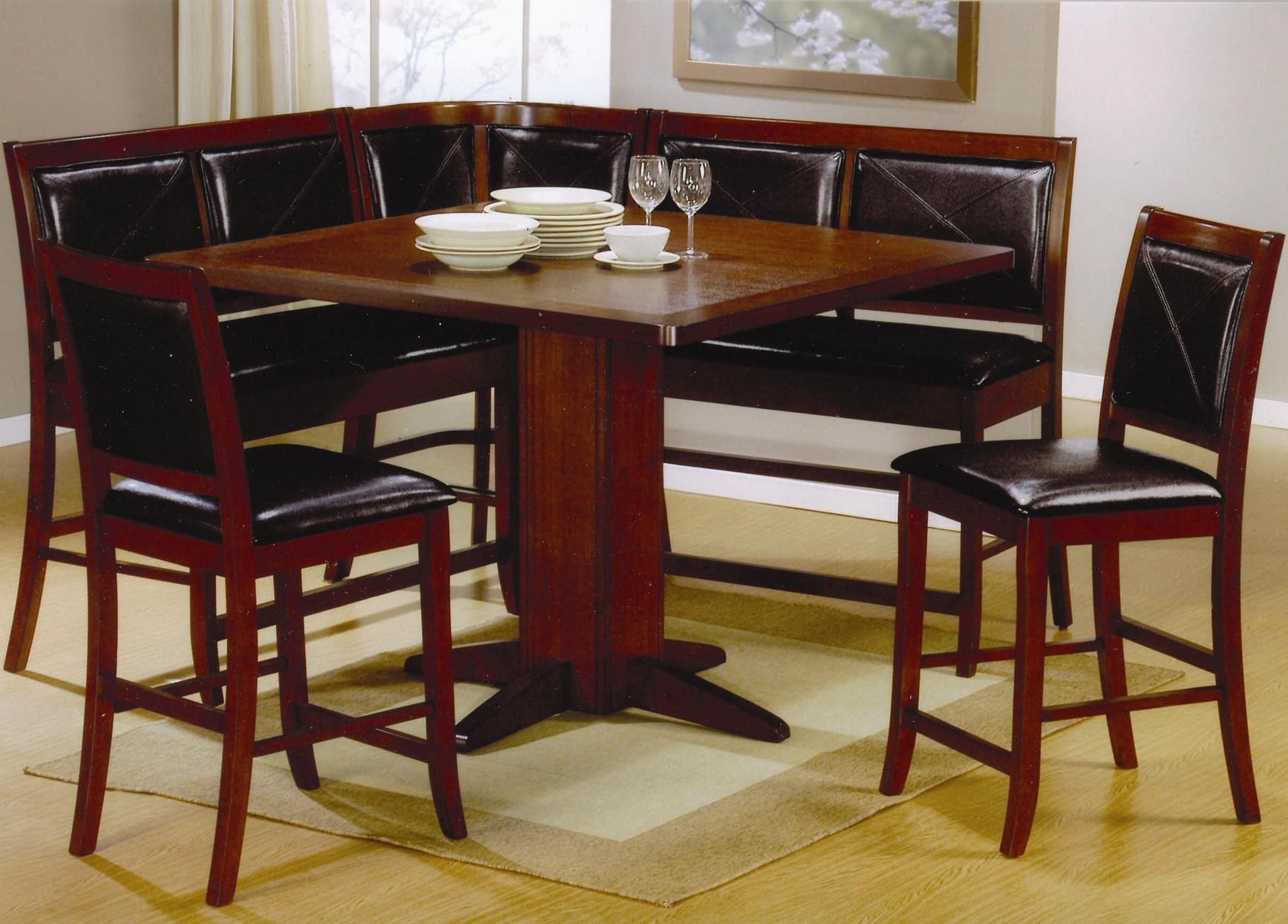 Coaster Lancaster 6 Piece Counter Height Dining Set   Coaster Fine Furniture