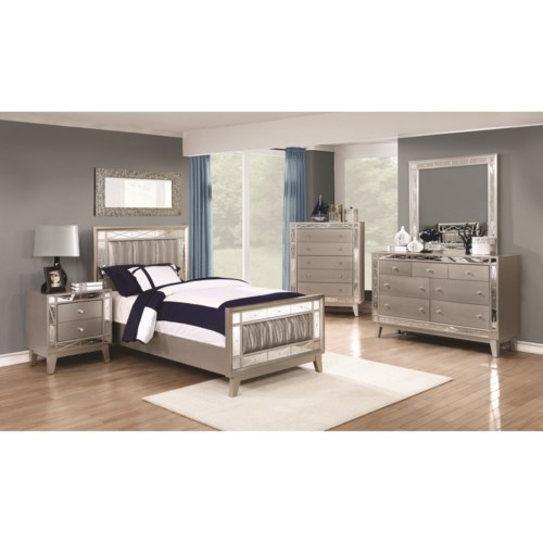 Coaster Leighton Full Bedroom Group   Coaster Fine Furniture Bed Shown May Not Represent Exact Size Indicated. Coaster Bedroom Furniture. Home Design Ideas
