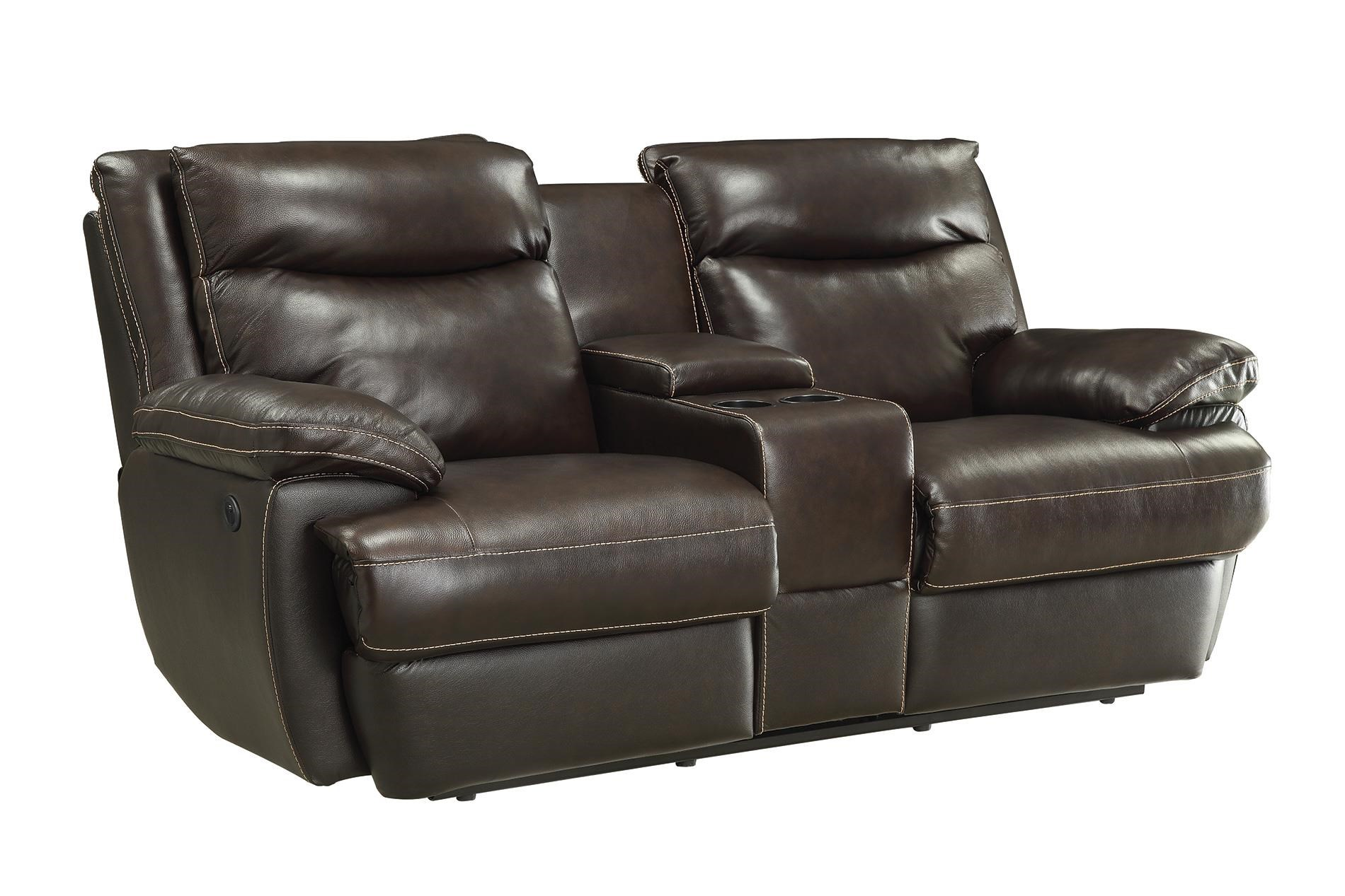 Coaster MacPherson Casual Power Reclining Loveseat With Storage And USB  Charging Ports   Coaster Fine Furniture