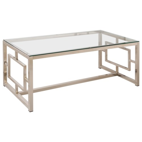 Coaster Occasional Group Contemporary Metal Coffee Table