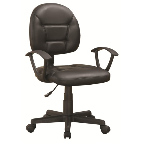 Coaster Office Chairs Black Office Chair Coaster Fine Furniture