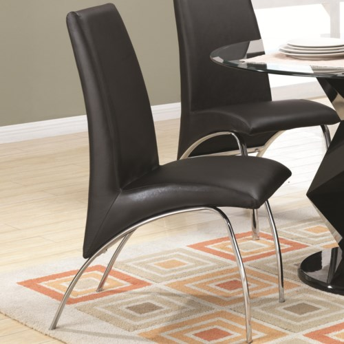 Coaster Ophelia Contemporary Leatherette and Metal Dining  : products2Fcoaster2Fcolor2Fophelia20 20 181734809120802 b0 from www.coasterfurniture.com size 500 x 500 jpeg 49kB