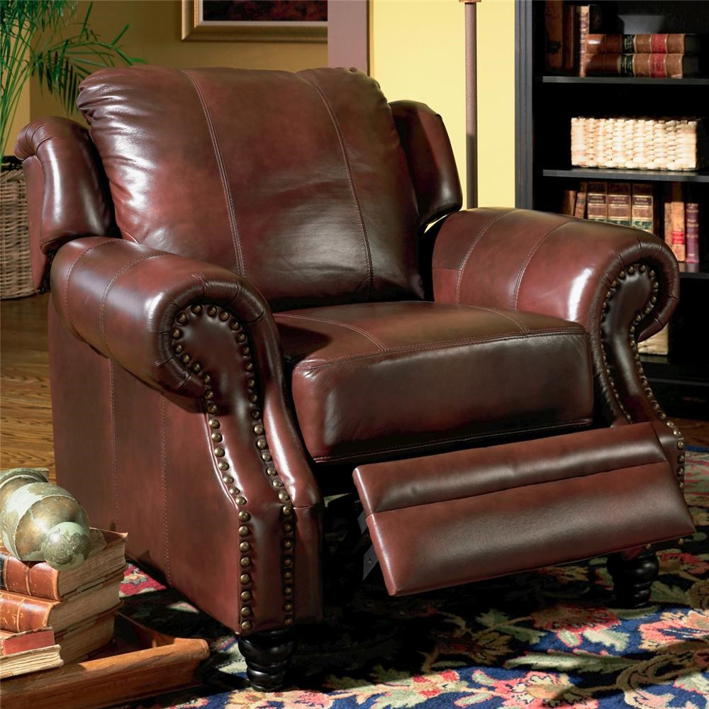 & Coaster Princeton Rolled Arm Leather Recliner - Coaster Fine Furniture islam-shia.org