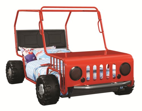 Novelty Beds Jeep Twin Bed
