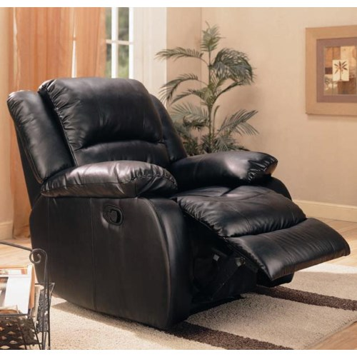 Coaster Recliners Upholstered Rocker Recliner