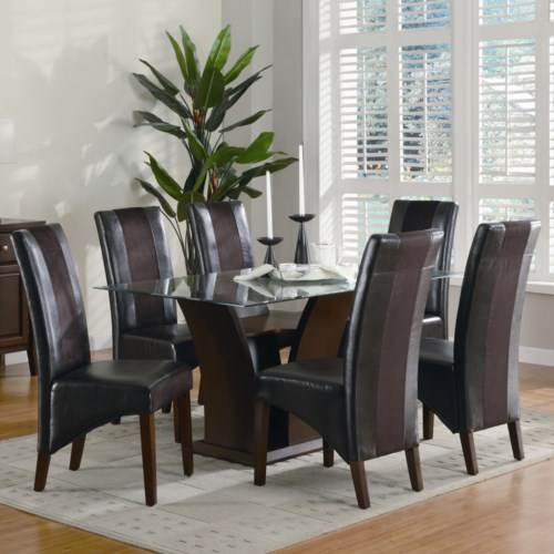 Coaster Rodeo Seven Piece Dining Set