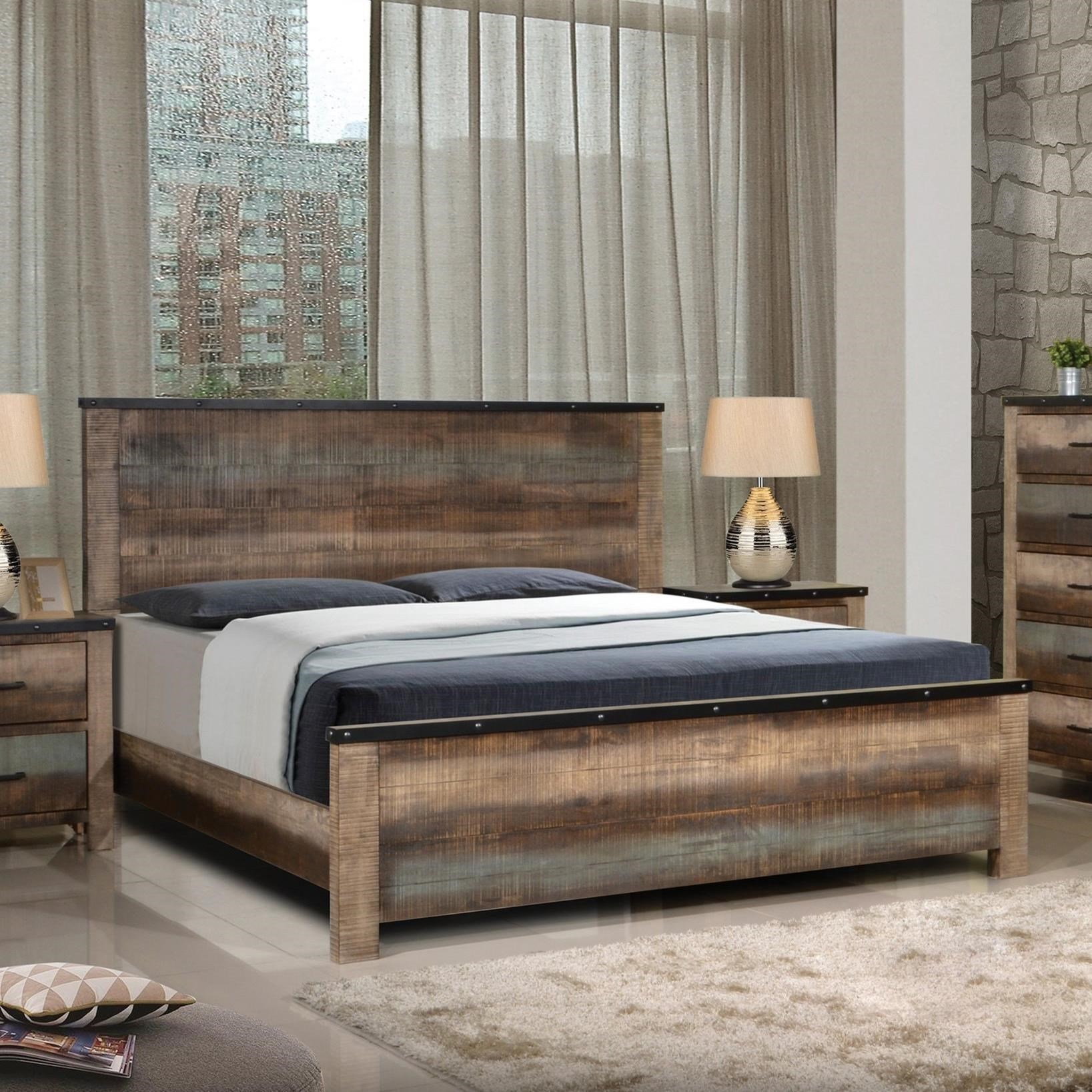 Beau Bed Shown May Not Represent Size Indicated