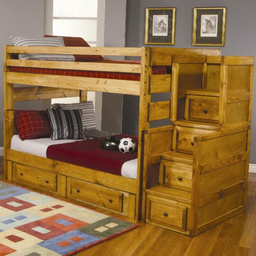 beds products bed with bunk kids for bunkbeds flexa storage