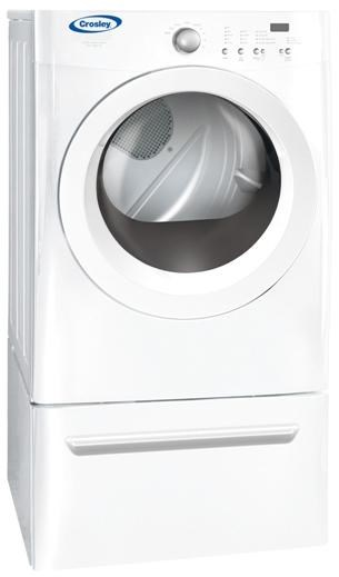 crosley electric dryers 70 cu ft frontload electric dryer with electronic moisture