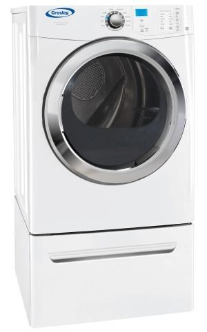 crosley gas dryers 70 cu ft frontload gas dryer with wrinkle release