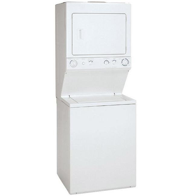 crosley washer and dryer combo set 295 cu ft stacked washer and 55 cu