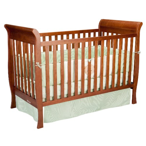 Delta Children S Products Glenwood Casual Sleigh Crib