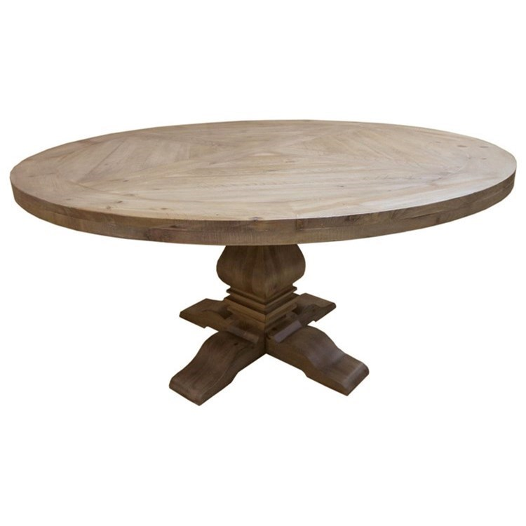Donny Osmond Home Florence Round Pedestal Dining Table   Coaster Fine  Furniture