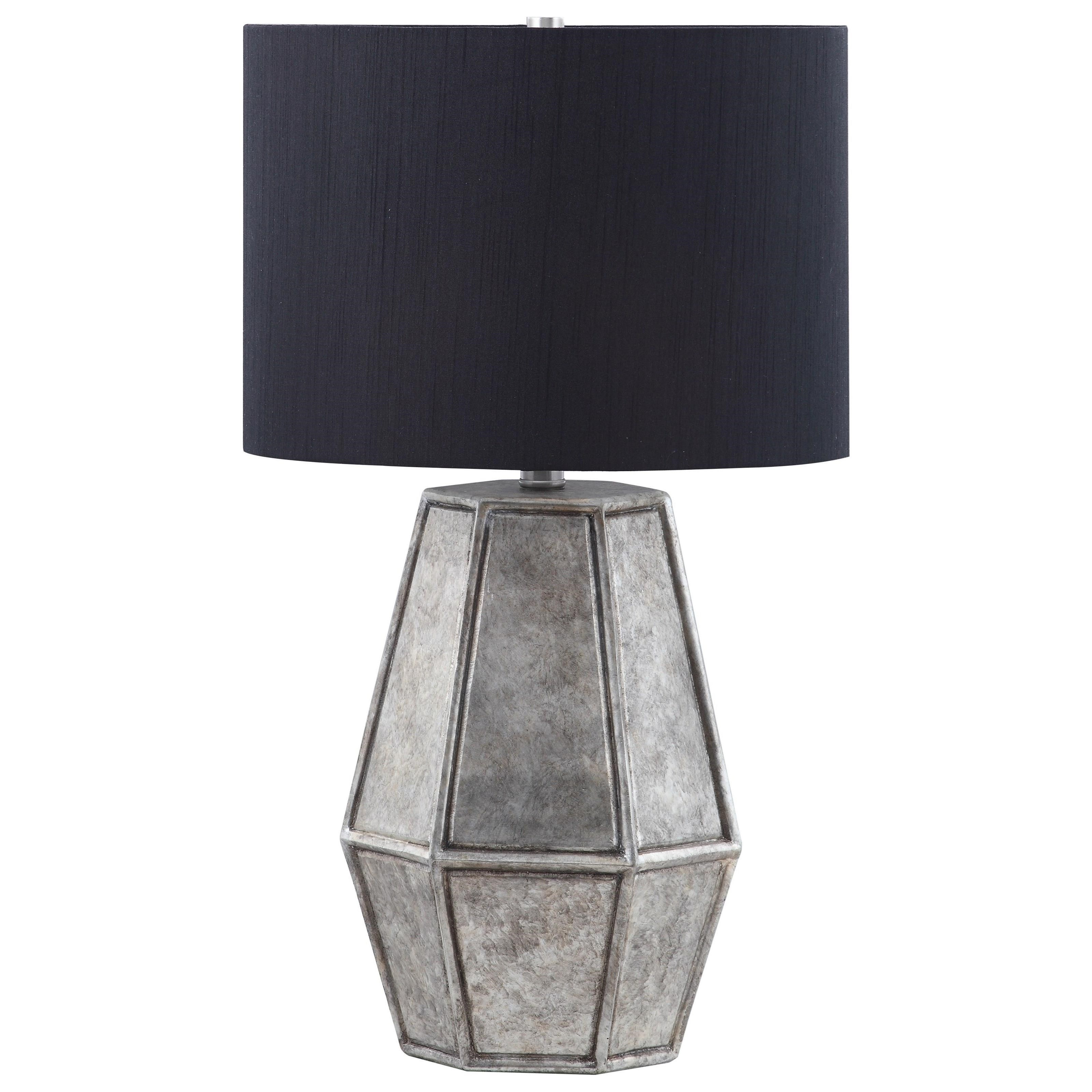 Donny Osmond Home Lamps Modern Table Lamp With Metal Base   Coaster Fine  Furniture