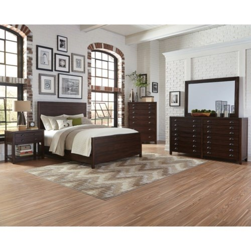 Donny Osmond Storage Bedroom Bench Reviews: Donny Osmond Home Lanchester Queen Bedroom Group