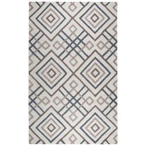 j hand tufted wool windows scroll rug tile porcelain rugs pottery blue shop geometric contemporary barn
