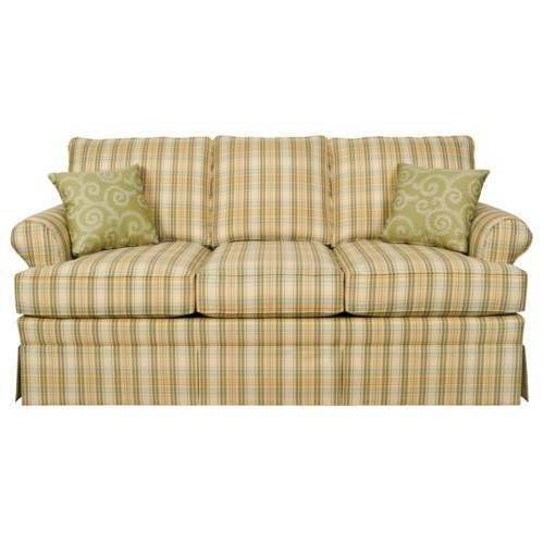 England Grace  Full Sleeper Sofa with Rolled Arms