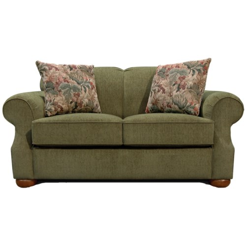 England Melbourne Two Over Two Loveseat
