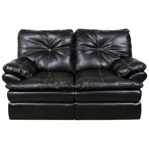 England Miranda and Lloyd  Double Reclining Two Person Loveseat with Power for Family Room Gathering