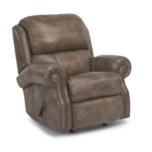 Flexsteel Accents Rocking Reclining Chair