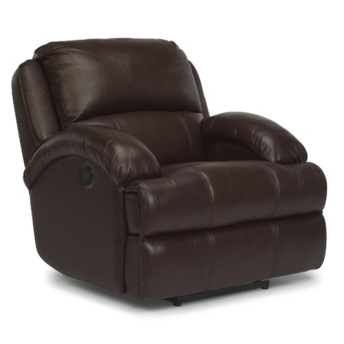 Flexsteel Latitudes - Fast Lane Leather Power Recliner