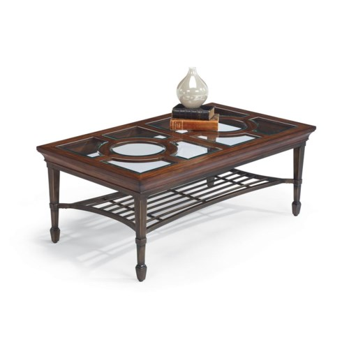 Flexsteel Hathaway Rectangular Cocktail Table
