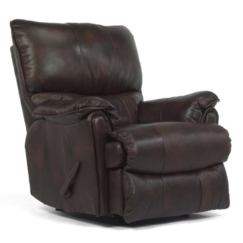 Flexsteel Latitudes - Stockton Recliner w/ Power and Large Bustle Back